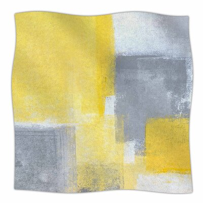 Steady by CarolLynn Tice Fleece Blanket Size: 80 L x 60 W