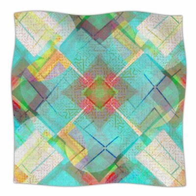 Blue Sound by Cvetelina Todorova Fleece Blanket