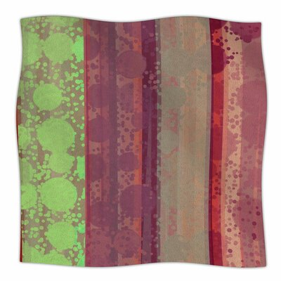 Magic Carpet by Cvetelina Todorova Fleece Blanket Size: 80 L x 60 W