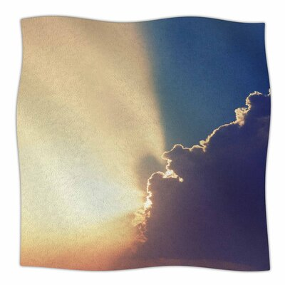 After the Storm by Cvetelina Todorova Fleece Blanket Size: 80 L x 60 W