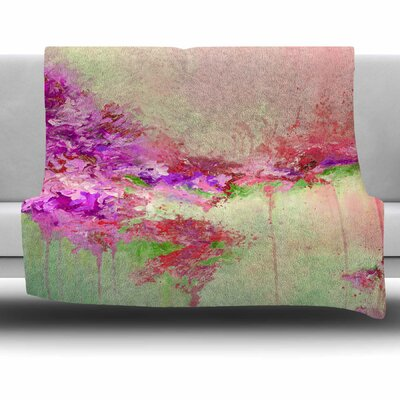 When Land Met Sky 3 by Ebi Emporium Fleece Blanket