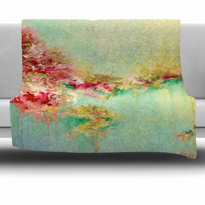 When Land Met Sky 1 by Ebi Emporium Fleece Blanket
