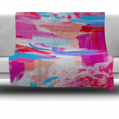 On the Move by Ebi Emporium Fleece Blanket