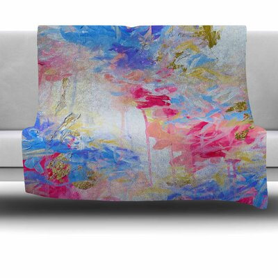 Whispered Song 1 by Ebi Emporium Fleece Blanket