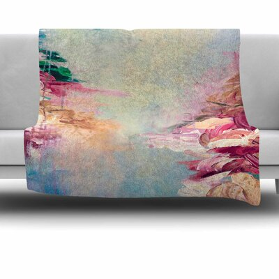 Winter Dreamland 1 by Ebi Emporium Fleece Blanket