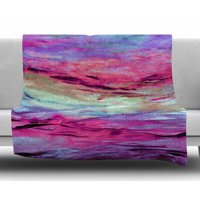 Unanchored 4 by Ebi Emporium Fleece Blanket