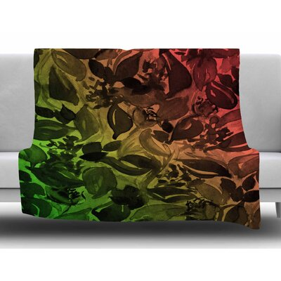 Blossoms Unchained 3 by Ebi Emporium Fleece Blanket