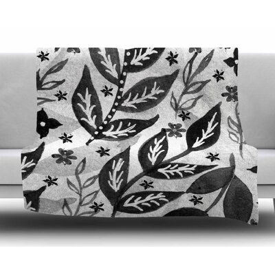 Foliage by Li Zamperini Fleece Blanket