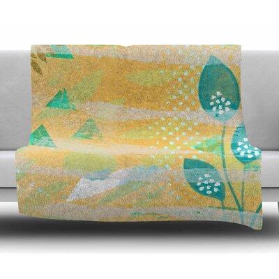Foliage by Li Zamperini Fleece Blanket