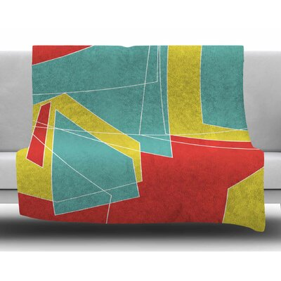 Cartagena Walls by MaJoBV Fleece Blanket