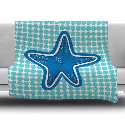 Estrella De Mar by MaJoBV Fleece Blanket