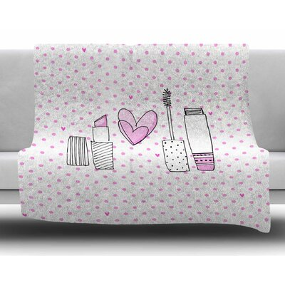 Girls Luv by MaJoBV Fleece Blanket
