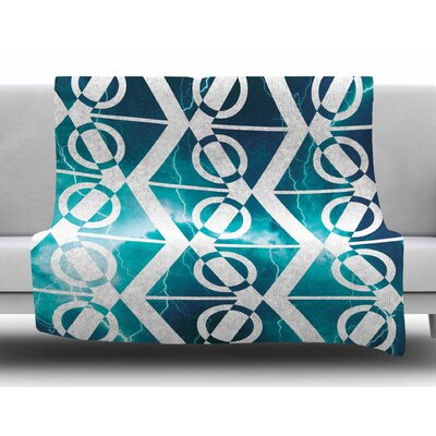 Storm by Matt Eklund Fleece Blanket