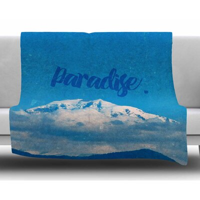 Paradise by Robin Dickenson Fleece Blanket