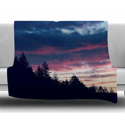 Go on Adventures by Robin Dickinson Fleece Blanket