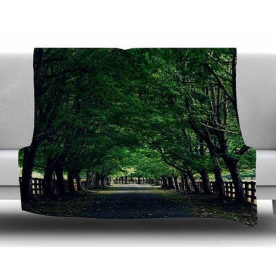 Welcome Home by Robin Dickinson Fleece Blanket