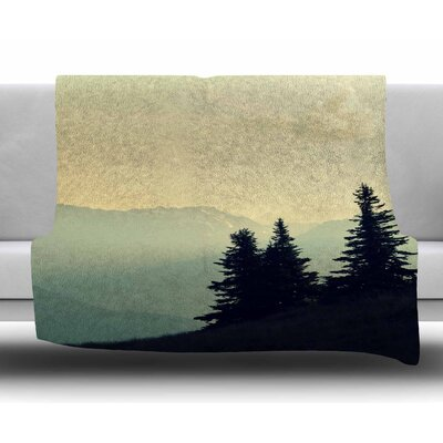A Wonderful World by Robin Dickinson Fleece Blanket