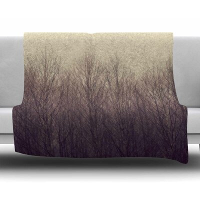 Forest by Robin Dickinson Fleece Blanket