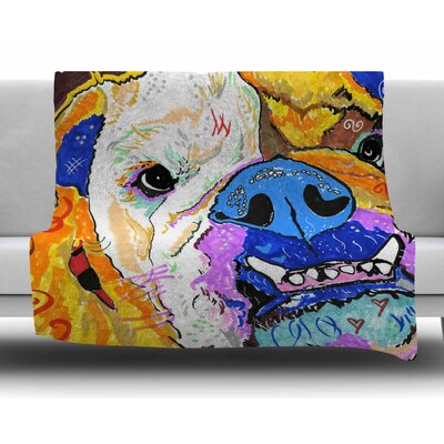Tucker by Rebecca Fisher Fleece Blanket