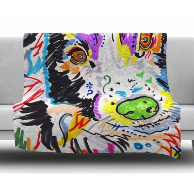 Buzz by Rebecca Fisher Fleece Blanket