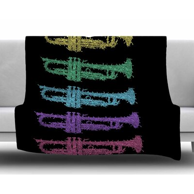 Trumpet Arch by BarmalisiRTB Fleece Blanket
