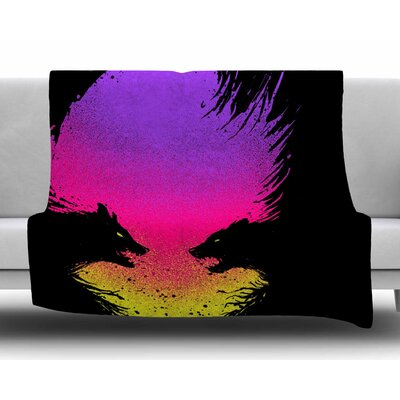 Wild Faces by BarmalisiRTB Fleece Blanket