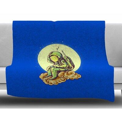 Why in the Cloud by BarmalisiRTB Fleece Blanket