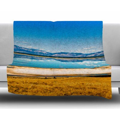 Reflection by Sylvia Coomes Fleece Blanket