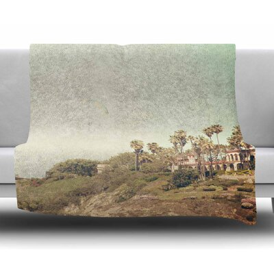 West Coast 1 by Sylvia Coomes Fleece Blanket