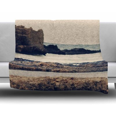 Mediterranean Ii by Sylvia Coomes Fleece Blanket