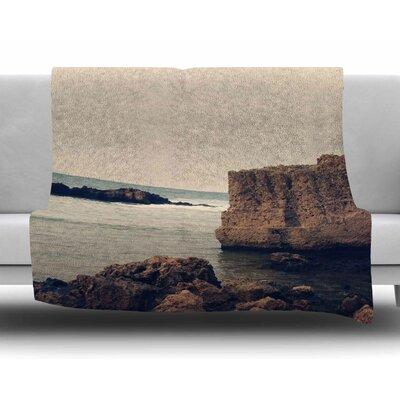 Mediterranean I by Sylvia Coomes Fleece Blanket