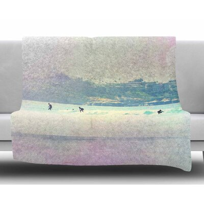 Rainbow I by Sylvia Coomes Fleece Blanket