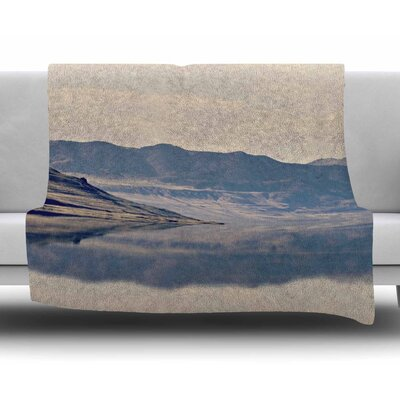Reflective 2 by Sylvia Coomes Fleece Blanket