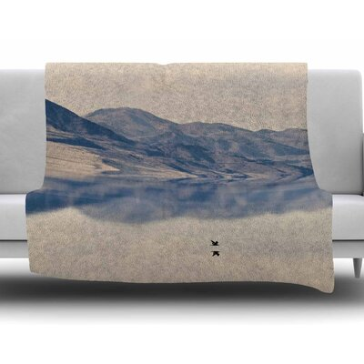Reflective 1 by Sylvia Coomes Fleece Blanket