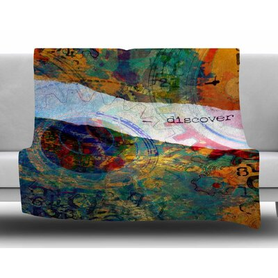 Discover 3 by AlyZen Moonshadow Fleece Blanket