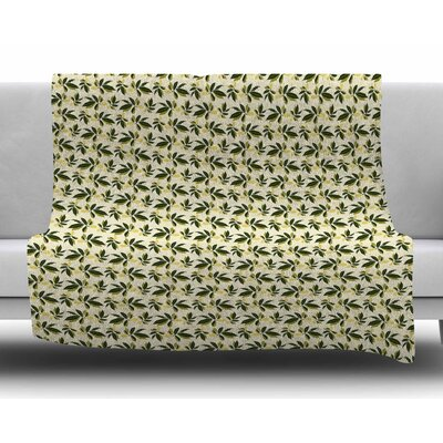 Pine Cone by Mayacoa Studio Fleece Blanket