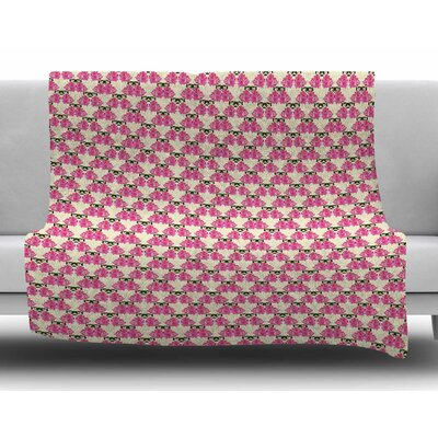 Rosea by Mayacoa Studio Fleece Blanket