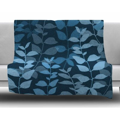 Leaves of Dreams by Carolyn Greifeld Fleece Blanket