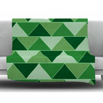 Emerald City by Catherine McDonald Fleece Blanket