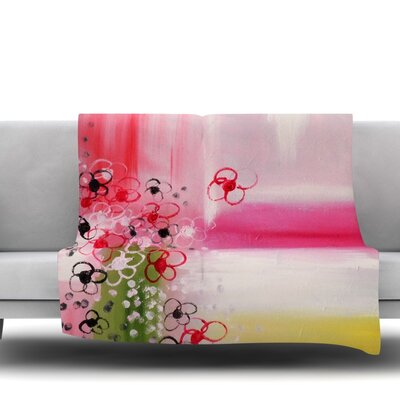 Spring Dreams by Cathy Rodgers Fleece Blanket