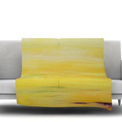 Sunrise by Cathy Rodgers Fleece Blanket