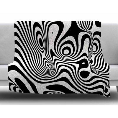 Trippy by Danny Ivan Fleece Blanket