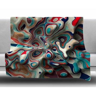 Weird Surface by Danny Ivan Fleece Blanket