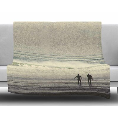 Sun & Surf by Debbra Obertanec Fleece Blanket