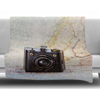 Travel Time by Debbra Obertanec Fleece Blanket