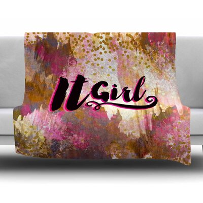 It Girl by Ebi Emporium Fleece Blanket