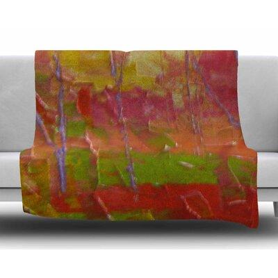 Colorful Garden by Jeff Ferst Fleece Blanket