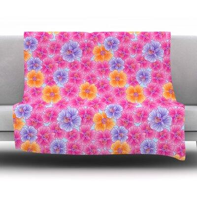 My Garden by Julia Grifol Fleece Blanket