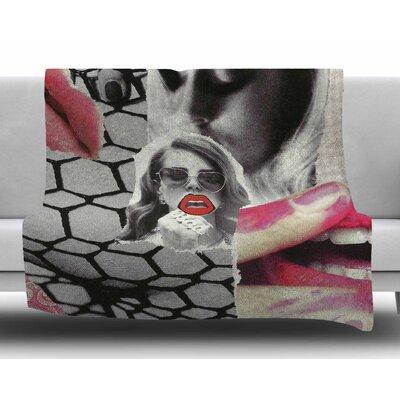 Love by Jina Ninjjaga Fleece Blanket