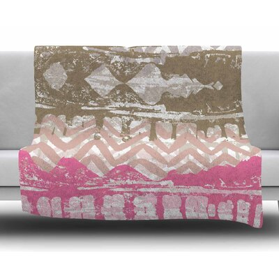 Allegro by Chickaprint Fleece Blanket